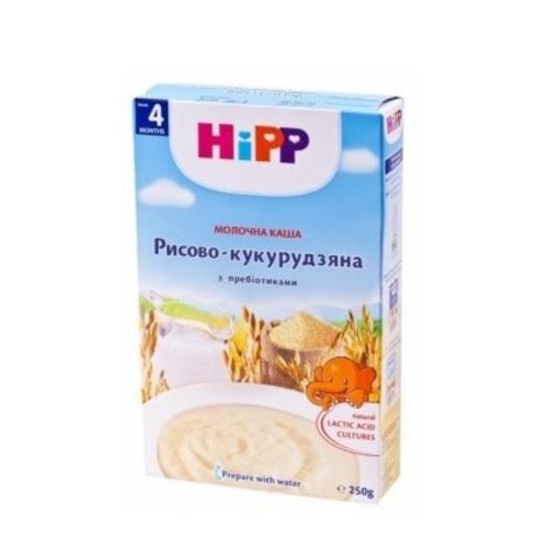 ХИПП Каша Молочная рисово-кукурузная с пробиотиками «Первая детская каша»