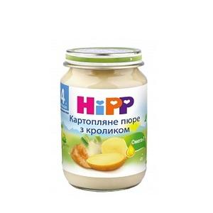 ХИПП Пюре Кролик в картофельном пюре 190г