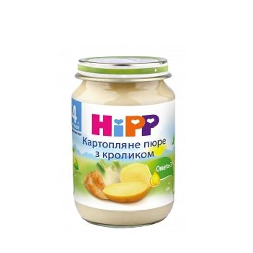 ХІПП Пюре Кролик в картопляному пюре 190г купити в Киеве