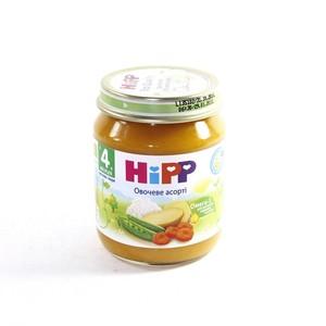 ХИПП Пюре овощное Ассорти 125г