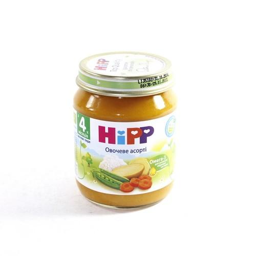 ХИПП Пюре овощное Ассорти 125г купить в Киеве