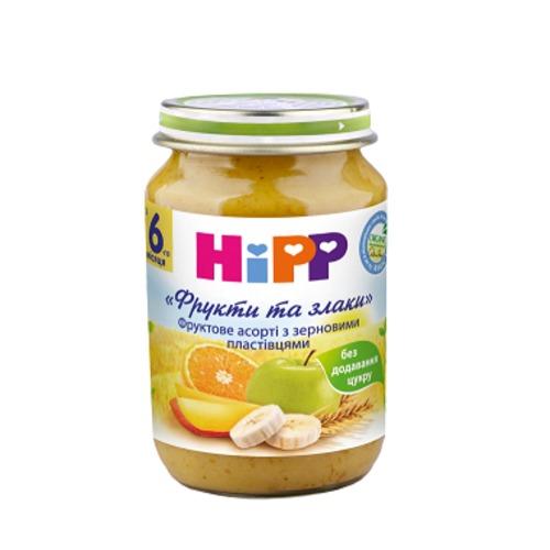ХИПП Пюре зерново-фруктовое