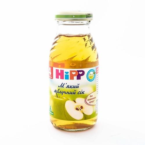 ХИПП Сок мягкий яблочный 200мл
