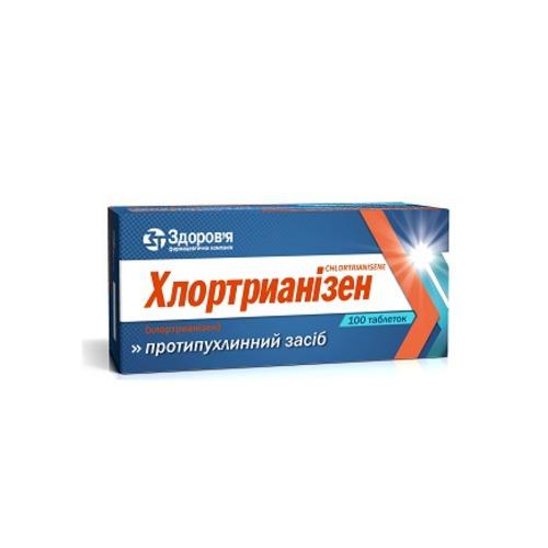 ХЛОРТРИАНИЗЕН ТАБ. 0,012Г №100 купить в Харькове
