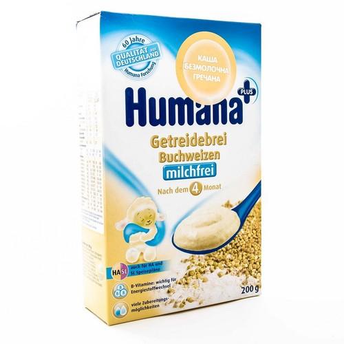 ХУМАНА Каша молочна гречана 250г купити в Броварах