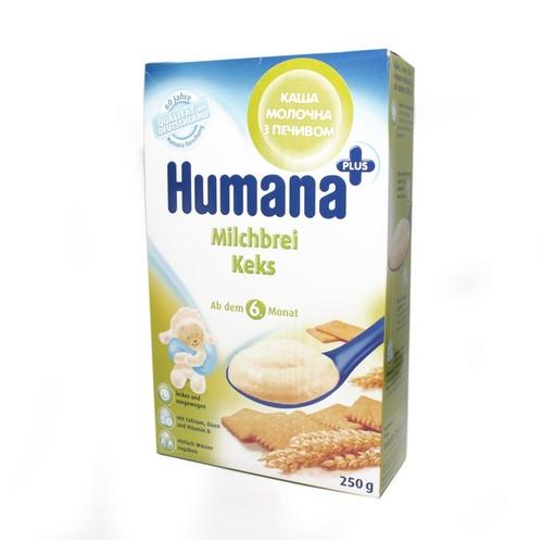 ХУМАНА Каша молочна з печивом 250г купити в Ирпене