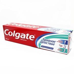 Колгейт Тройное действие зубная паста100мл