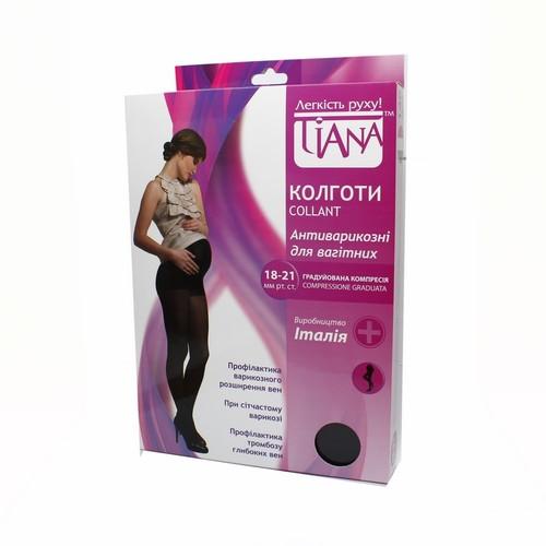Колготки антиварикозные для беремен.140 Den (18-21 мм рт.ст)черн.размер 3