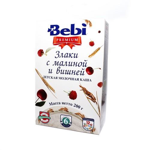 КОЛИНСКА БЕБИ Каша молочная злаки, малина и вишня купить в Харькове
