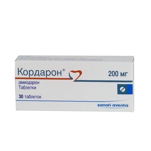 КОРДАРОН ТАБ. 200МГ №30 купити в Ирпене