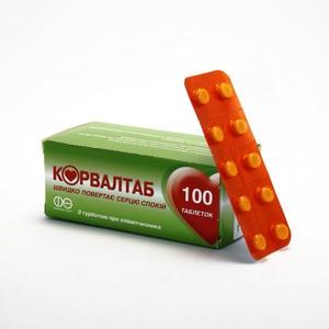 КОРВАЛТАБ ТАБ. №100