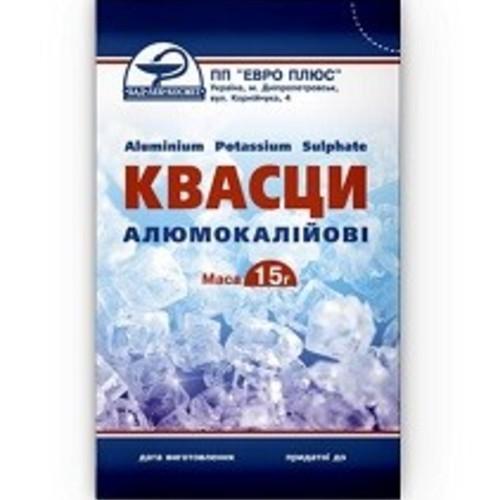 КВАСЦЫ АЛЮМОКАЛИЕВЫЕ 15Г купить в Харькове