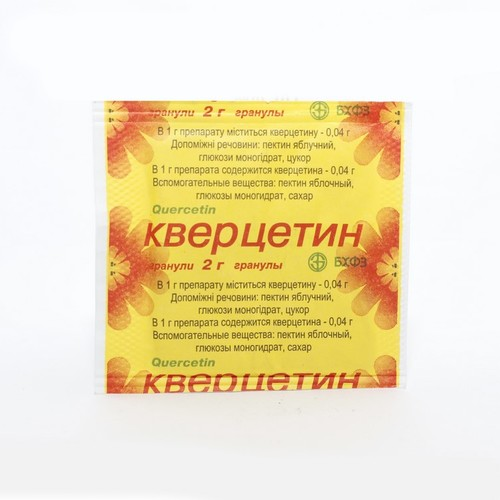 КВЕРЦЕТИН ГРАНУЛЫ ПАК. 2Г