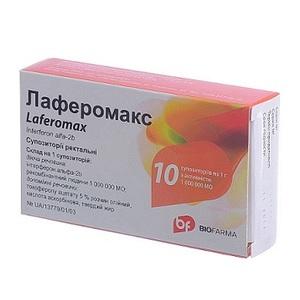 ЛАФЕРОМАКС СУПП. 1МЛН. МЕ №10