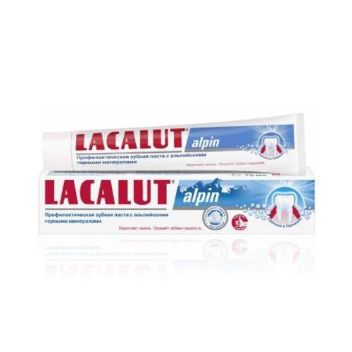ЛАКАЛУТ Альпин зубная паста 50мл купить в Житомире