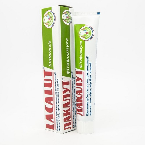 ЛАКАЛУТ Фитоформула зубная паста 50мл
