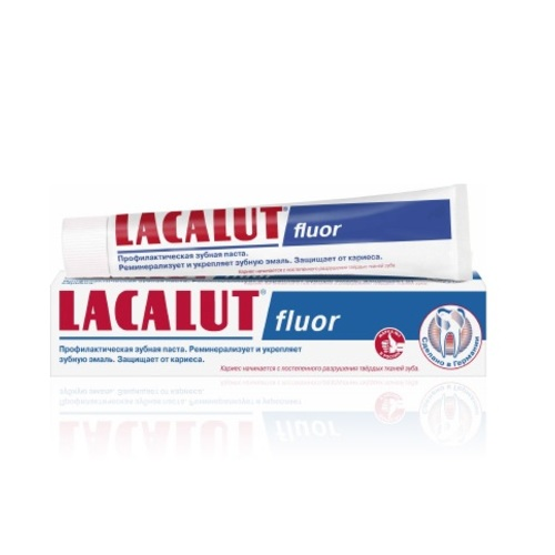 ЛАКАЛУТ Фтор зубна паста 50мл купити в Броварах