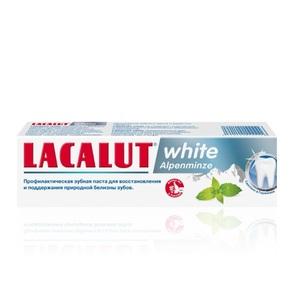 ЛАКАЛУТ Вайт альпийская мята зубная паста 75мл