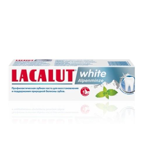 ЛАКАЛУТ Вайт альпійська м'ята зубна паста 75мл купити в Житомире