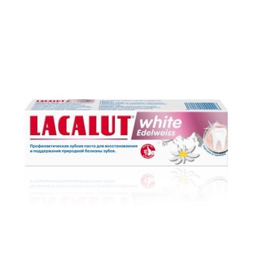 ЛАКАЛУТ Вайт едельвейс зубна паста 75мл купити в Житомире