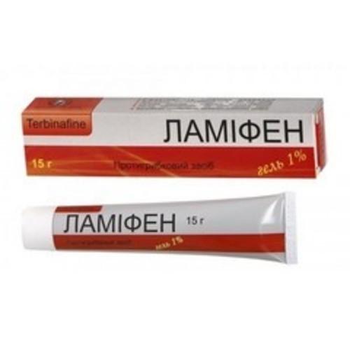 ЛАМИФЕН ГЕЛЬ 1% 15Г купить в Житомире