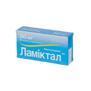 ЛАМИКТАЛ ТАБ. 50МГ №28