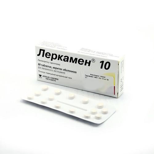 ЛЕРКАМЕН ТАБ. 10МГ №60 купити в Житомире