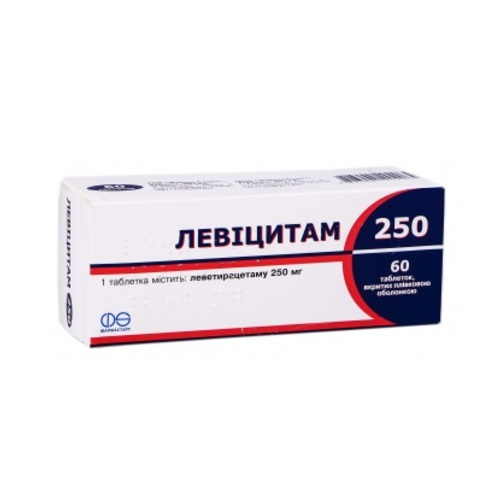 ЛЕВИЦИТАМ 250 ТАБ. 250МГ №60