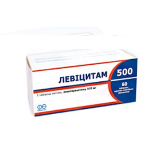 ЛЕВИЦИТАМ 500 ТАБ. 500МГ №60 купить в Киеве