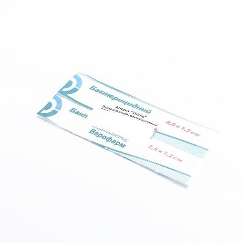Лейкопластырь бактерицидный ВЕРОФАРМ 2.5*7.2 купить в Славутиче