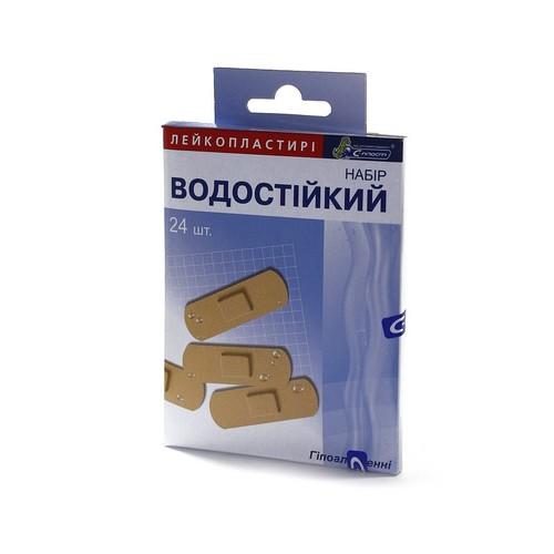 ЛЕЙКОПЛАСТЫРЬ С-ПЛАСТ,НАБОР ВОДОСТОЙКИЙ#24 купить в Броварах