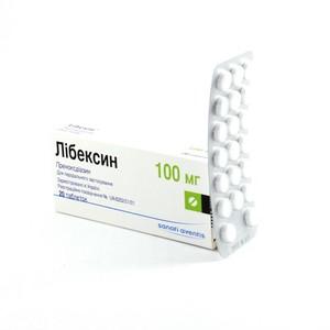 ЛИБЕКСИН ТАБ. 100МГ №20