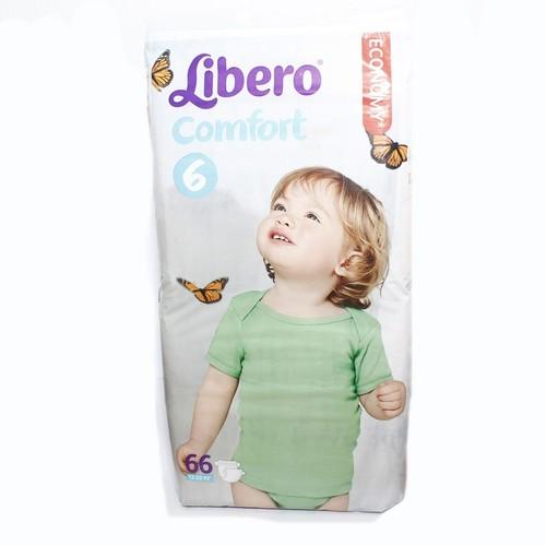 ЛІБЕРО Comfort 6 (12-22кг) №66 купити в Ирпене