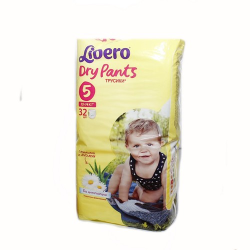 ЛИБЕРО DryPants 5 (10-14кг) №32 купить в Киеве