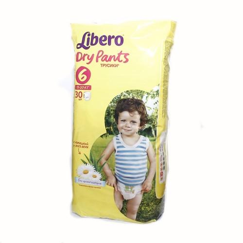 ЛИБЕРО DryPants 6 (13-20кг) №30 купить в Житомире