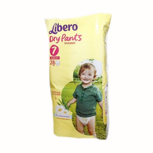 ЛИБЕРО DryPants 7 (16-26кг) №28 купить в Киеве