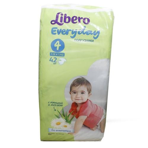 ЛИБЕРО Еveryday 4 (7-18 кг) №42 купить в Ирпене