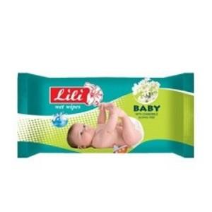 ЛИЛИ Салфетки влажные детские с экстрактом ромашки 15шт