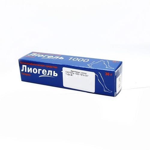 ЛИОГЕЛЬ 1000 ГЕЛЬ 30Г купить в Славутиче