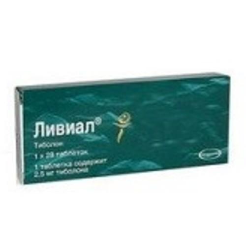 ЛИВИАЛ ТАБ. 2,5МГ №28 купить в Киеве