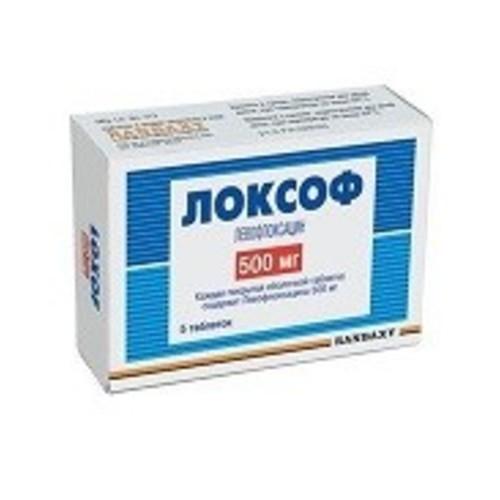 ЛОКСОФ ТАБ. 500МГ №5