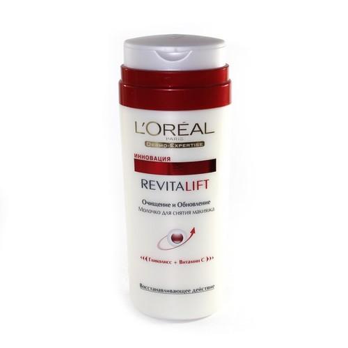 LOREAL Dermo Expertise Revitalift Молочко для зняття макіяжу 200мл.