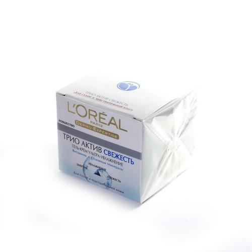 LOREAL Dermo Expertise Тріо Актив гель-крем д/сухої.та чут.шкіри обличчя,бан.50мл купити в Броварах