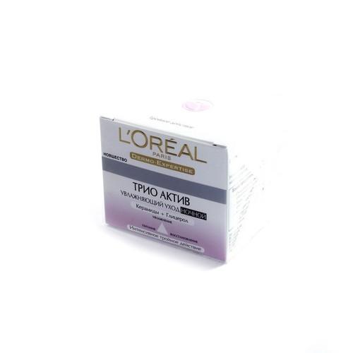 LOREAL Dermo Expertise Тріо Актив нічний зволожуючий крем , бан.50мл купити в Броварах
