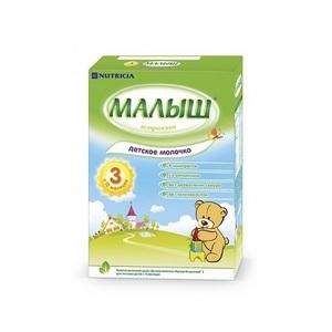 МАЛЫШ Истр-й 3, Детское молоко 320г ДМС