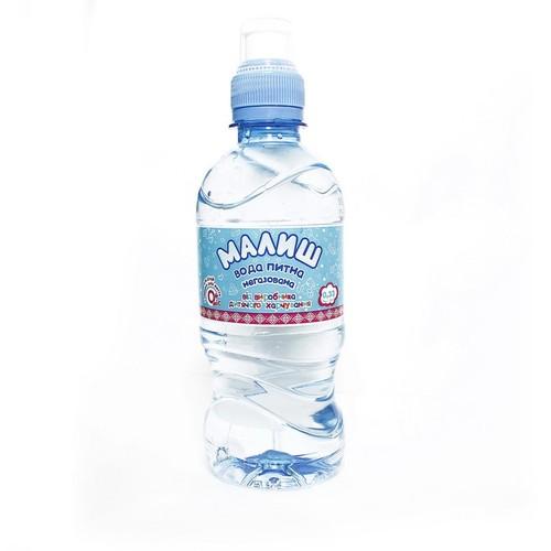МАЛЫШ Питьевая вода 0,33л спорт
