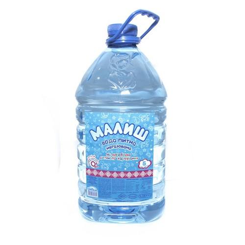 МАЛИШ Питна вода 5л купити в Броварах