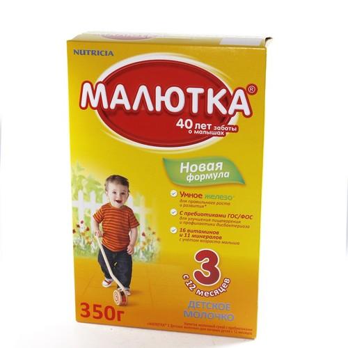 МАЛЮТКА 3 з 12 міс.кар/п, 350г ДМС купить в Броварах