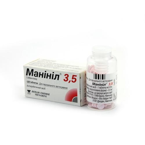 МАНИНИЛ ТАБ. 3,5МГ №120 купить в Житомире