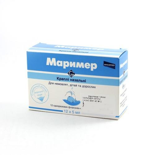 МАРИМЕР КАПЛИ НАЗАЛ.5МЛ ФЛ.#12